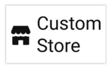 Demonstration of where to find the 'Choose Custom Store' when integrating Gunbroker order info to ShipStation.
